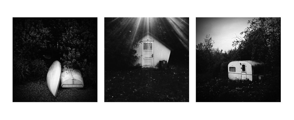iPhone triptych